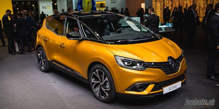 Genève 2016: Renault Scénic 4 - Asphalte.ch