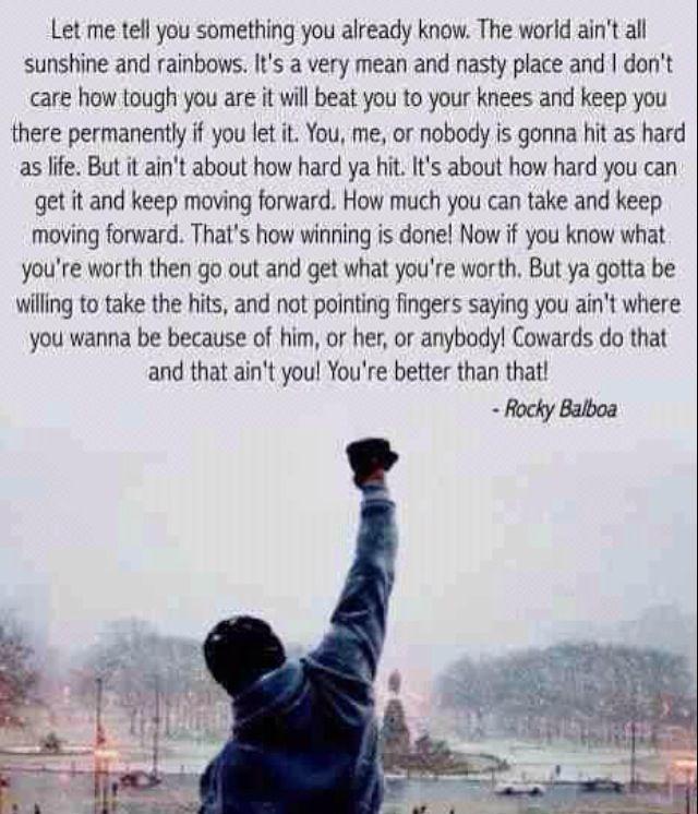 Rocky Zitate