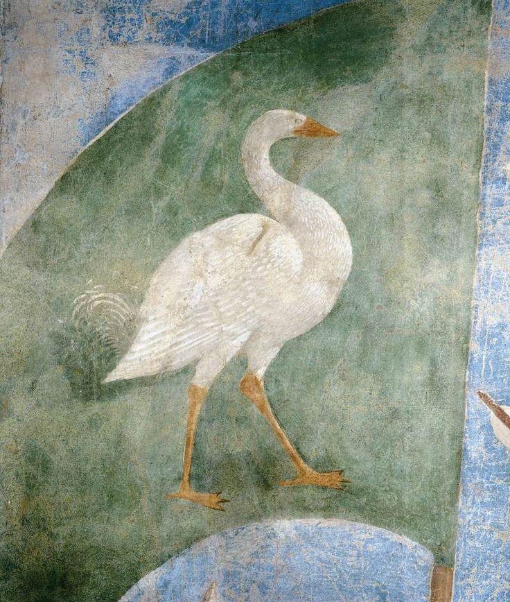 PIERO DELLA FRANCESCA - (1415 - 1492) - Battle between Heraclius and Chosroes (detail). Fresco. Basilica di San Francesco, Arezzo,Italy