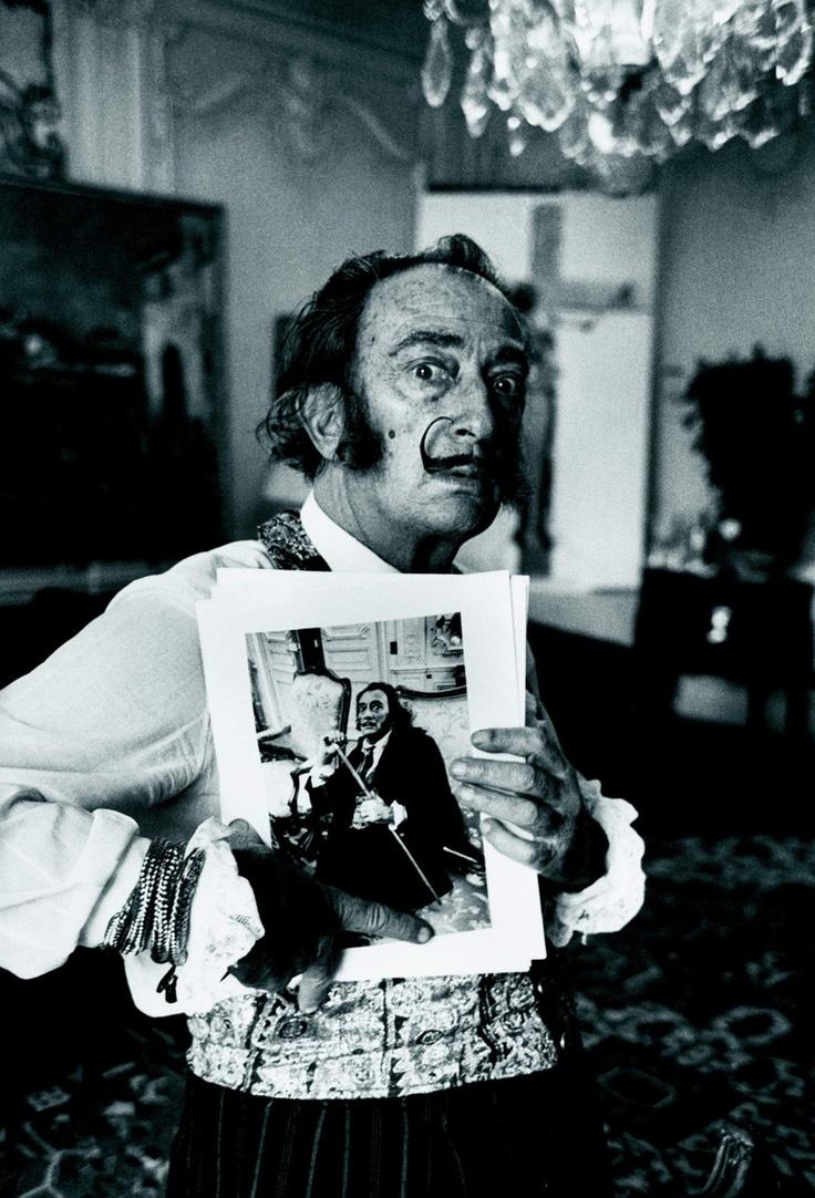 Václav Chochola:Salvador Dalí, Paris, 1969