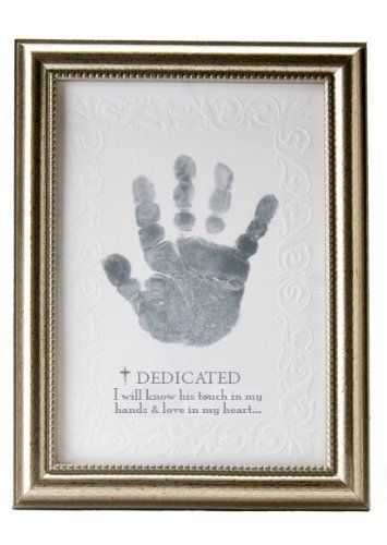 The Grandparent Gift Co. Growing in Faith Handprint Frame, Baby Dedication by The Grandparent Gift Co., http://www.amazon.com/dp/B004TEKP44/ref=cm_sw_r_pi_dp_b8AJrb1BEJJ63
