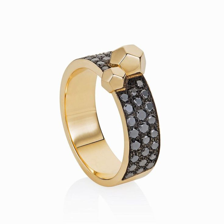 Ornella Iannuzzi Rock It! ring with crystals