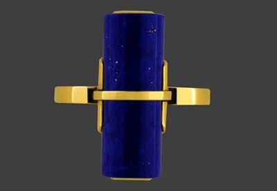 Ring with Lapis Lazuli - Hans Przyrembel, circa 1926