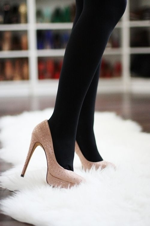 30 best Black Tights and Nude Heels images on Pinterest | Black ...