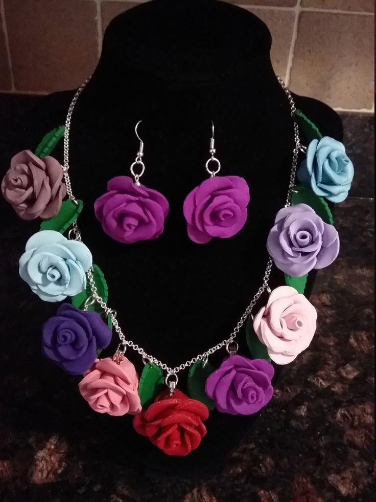 Multi Colour Roses - Magic jewelry, Attract set jewelry. Gift aisha jewelry, lovely gift, Matching set for her,Fashion 2017,Lovely gift idea by GiftAishaJewelry on Etsy