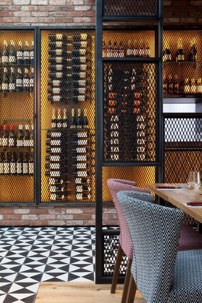 Middletons Steakhouse Und Grill Restaurant Interior Design Von