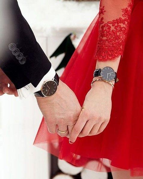Zegarek dla niej i dla niego! #danielwellington #danielwellingtonwatch #love #couple #fashion #lookoftheday #zegarek #zegarki #watches #butikiswiss #butiki #swiss