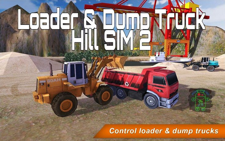 Loader & Dump Truck Hill SIM 2 - HD Android Gameplay - Bonus Truck Games - Full HD Video (1080p) More Full HD Android Gameplays: https://www.youtube.com/c/AndroidGamerTMG_AGTMG