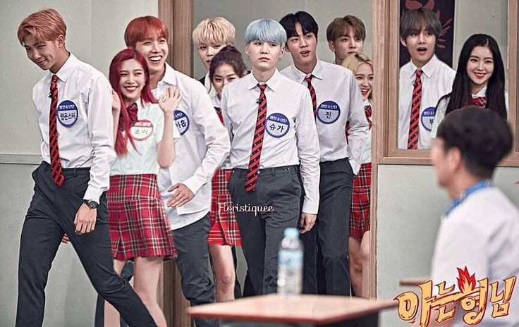 """338 Likes, 16 Comments - Ꝛiͷi ✦ (@floristiquee) on Instagram: """"❁ BangTanVelvet ❁ ─ Knowing Brothers. p/s ; I can't add Wendy in, im sorry ㅠㅠ · · Please do not…"""""""