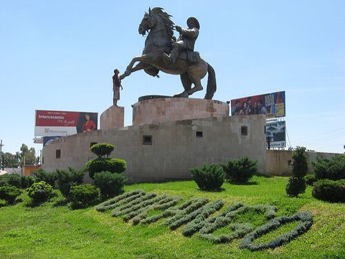 Monumento A Pancho Villa En Durango Mexico History