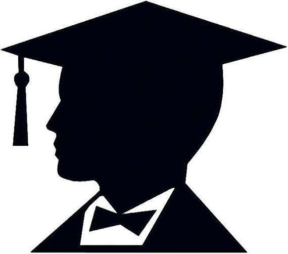 76 best graduation images on pinterest graduation ideas rh pinterest co uk Graduation Celebration Clip Art clipart graduation silhouette