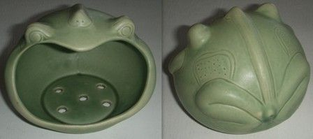 Code: SP01-006 Name: Frog Mouth Soap Dish