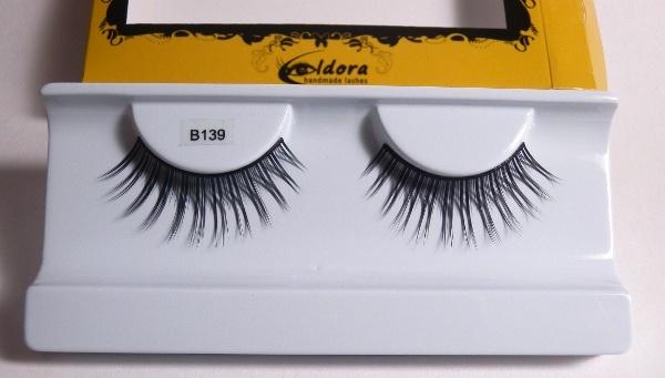 Ciglia finte lunghe effetto soft B139 Eldora lashes