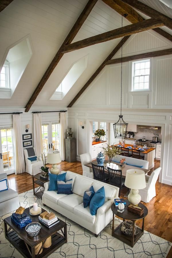 17 take away tips from hgtv 2015 dream home - Medium Wood Living Room 2015