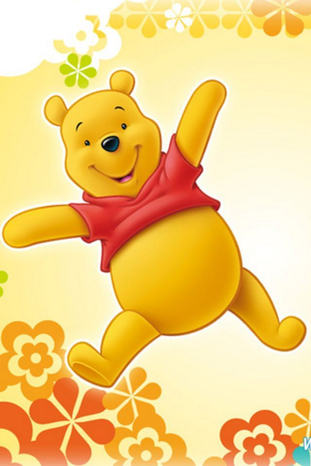 WINNIE THE POOH, IPHONE WALLPAPER BACKGROUND IPHONE