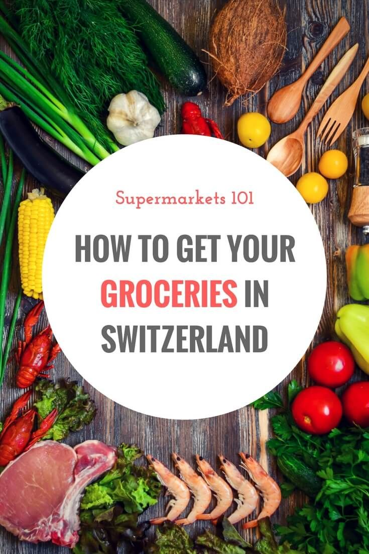 If you're wondering what the Swiss supermarket situation is like, check out this post and find out where you can get your groceries in Switzerland.