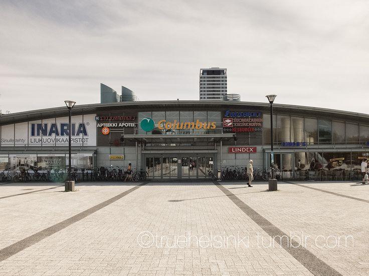Columbus shopping mall in Vuosaari