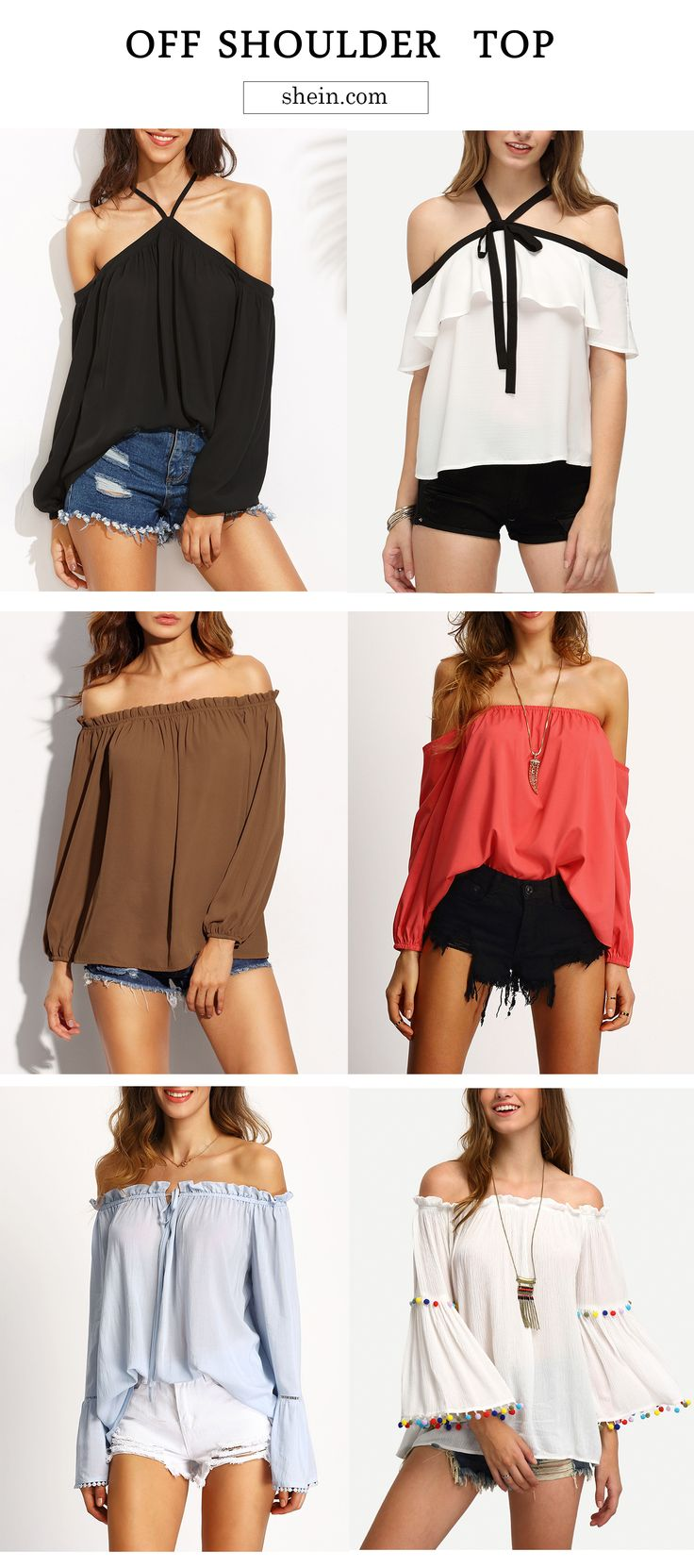The most hot items! Off shoulder top love still lasts for our fall! Up to 70% off now!