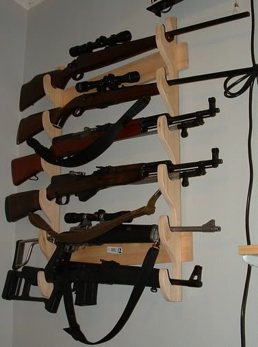 Those six-gun locking wall racks