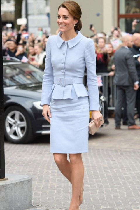 Kate Middleton In Alexander McQueen At The Team GB And Paralympics GB Medallists Reception, October 2016 - K-Middy's Most Iconic Fashion Moments Ever