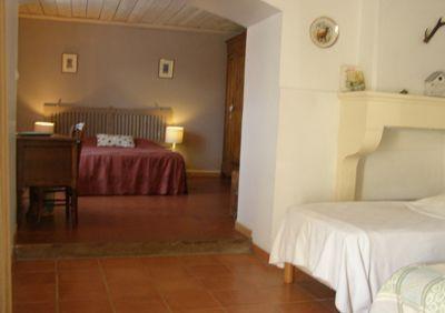 Une des chambres d'hôtes à vendre à Pouilly sur Loire dans la Nièvre