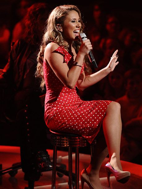 Great performance and style by Haley reinhart
