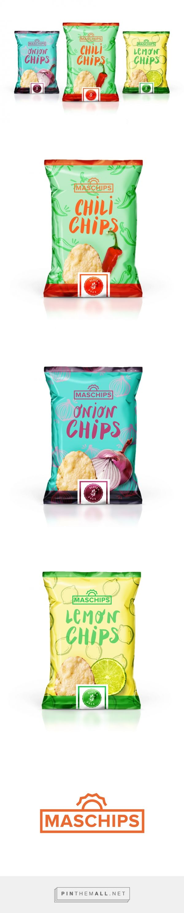 MASCHIPS (Concept) - Packaging of the World - Creative Package Design Gallery - http://www.packagingoftheworld.com/2016/03/maschips-concept.html