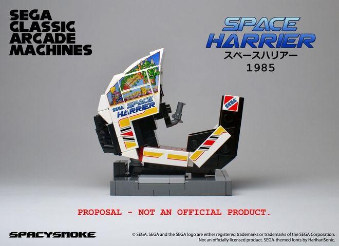 SpacySmoke - Lego Sega Arcade Classic Machines Space Harrier