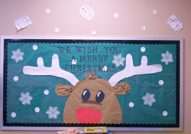 Reindeer Bulletin Boards