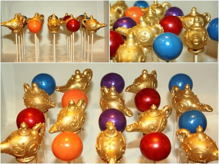 How To Make Genie Lamp Cake Pops