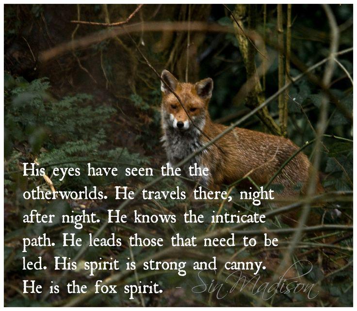 Fox Spirit. One of my guiding animal spirits