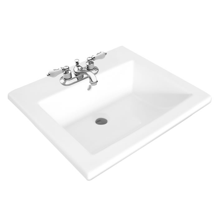 Stanza Square Drop In Sink Foremost Bathrooms