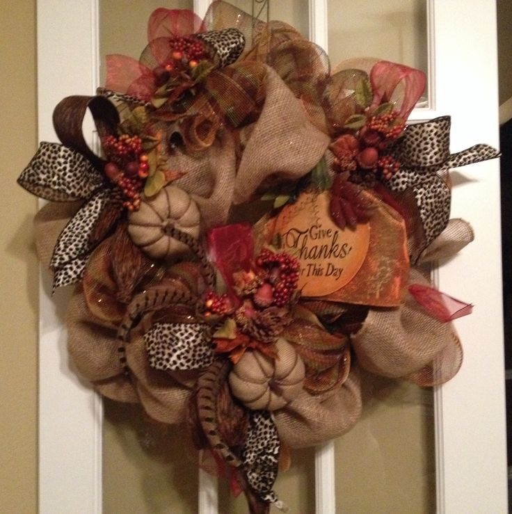 Fall wreath craft ideas pinterest crafts fall for Fall diy crafts pinterest