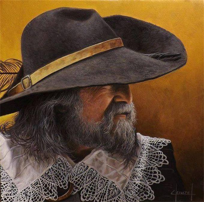 "Spanish Tercio ""Maestre de Campo"" (Field Marshall), by José Ferre Clauzel."