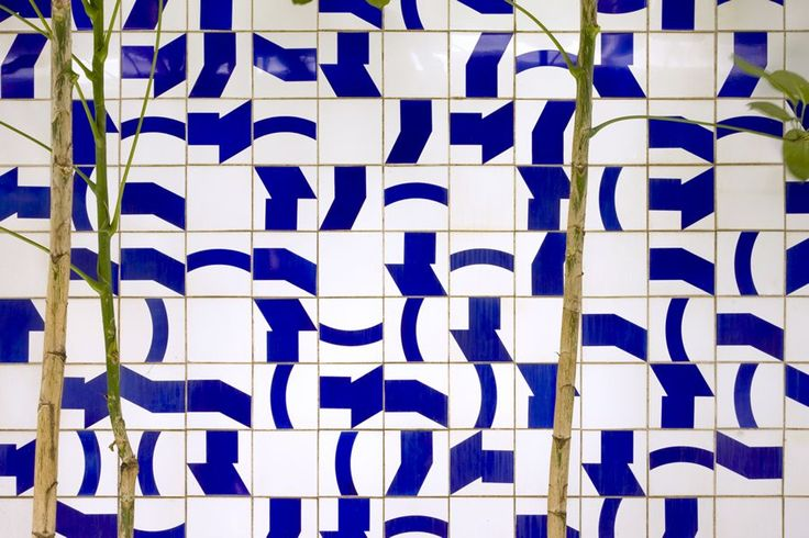 Mur de tuiles via Goodmoods
