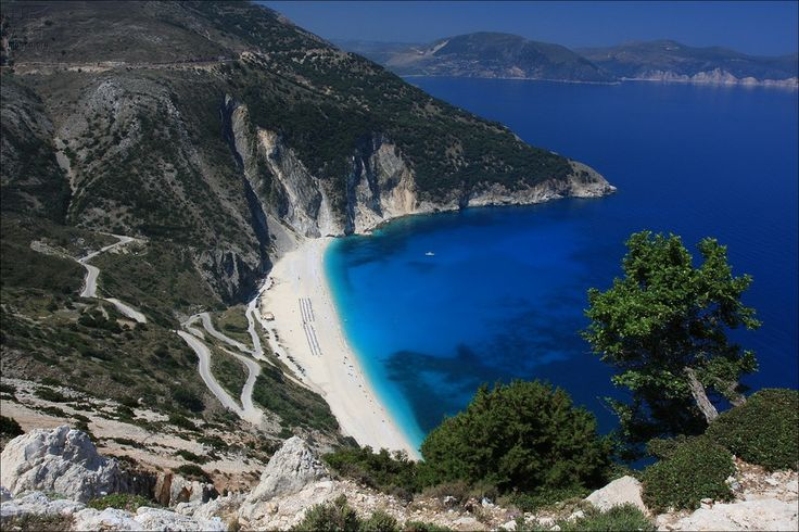 Myrthos beach - Kefalonia island - Ionian islands - Greece