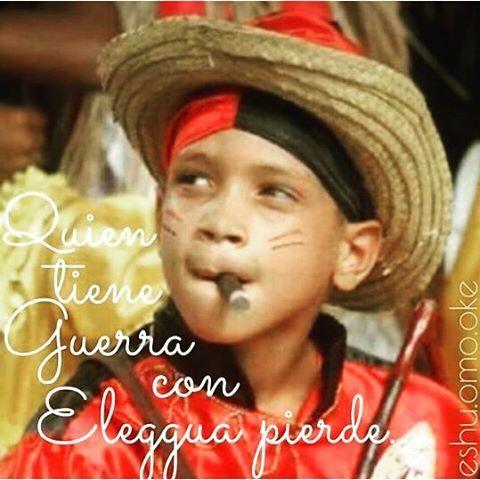 pierde... #Eleggua #Elegua #Elegba #Elegbara #Eshu