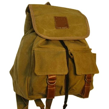 Canvass backpack
