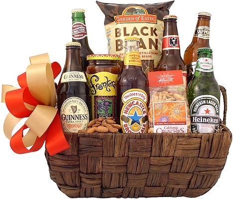 13 best Beer Gift Baskets images on Pinterest | Beer gift baskets ...