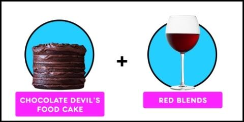 Have your cake and drink wine, too.