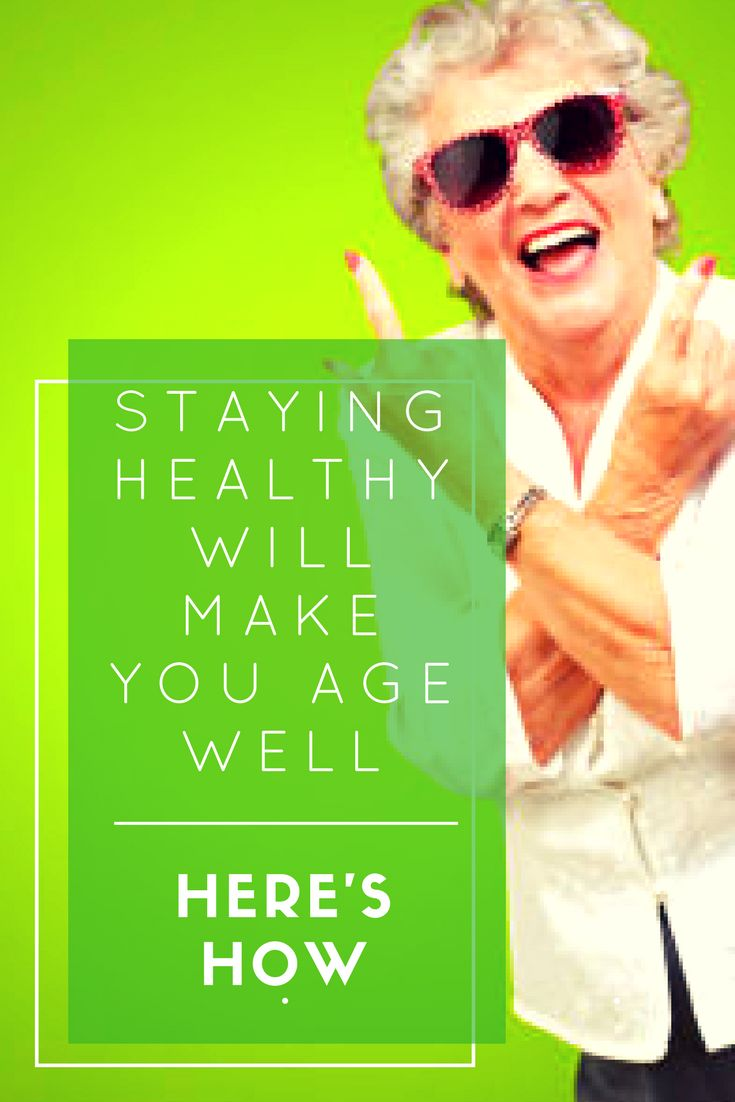 If you want to age well then staying healthy is your ticket into the agile oldies club. You see, the thing about getting older is that by the time you notice it's happened, it's often too late to do anything about it.
