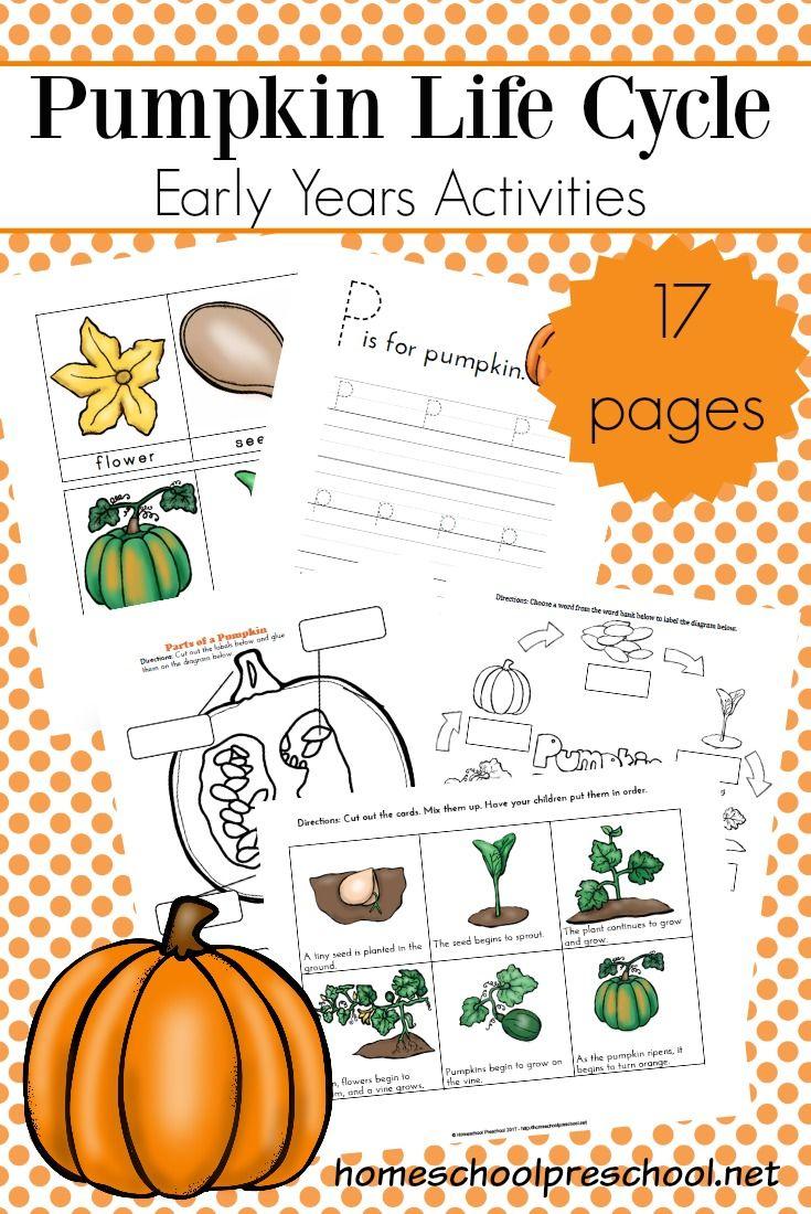Preschool Life Cycle Of A Pumpkin Printable For Fall Pumpkin Life Cycle Free Preschool Printables Free Preschool [ 1100 x 735 Pixel ]