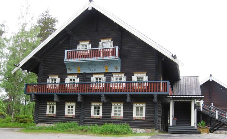 Bombahuis in Nurmes  Finland