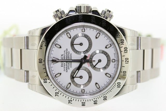 ROLEX 116520 WHITE DIAL 2012 DAYTONA. Click here to view more information on this product