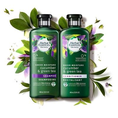 Herbal Essences Bio:Renew Sheer Moisture Cucumber & Green Tea Shampoo - 13.5oz