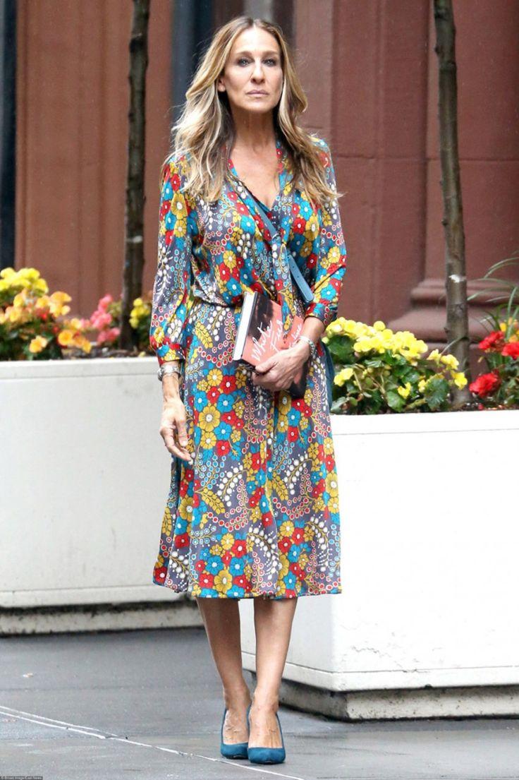 Сара Джессика Паркер и ее 10 цветочных платьев