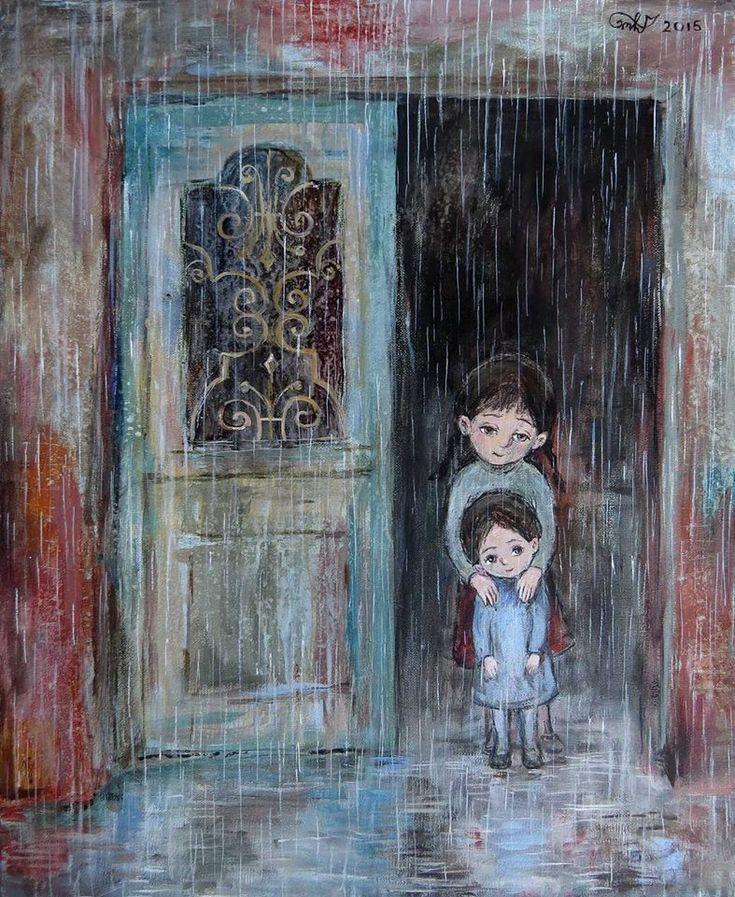Nino Chakvetadze, 1971 | Children painter | Tutt'Art@ | Pittura * Scultura * Poesia * Musica |