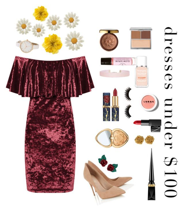 """""""demonic bloodweed"""" by beningintan ❤ liked on Polyvore featuring WearAll, Physicians Formula, Birchrose + Co., The Honest Company, Neutrogena, Humble Chic, Too Faced Cosmetics, LORAC, NARS Cosmetics and Christian Louboutin"""