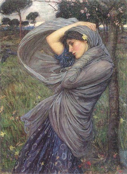 Boreas - John William Waterhouse - Wikipedia