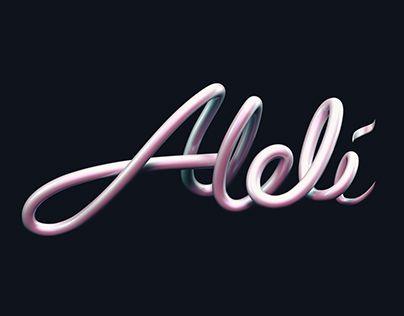 "Check out new work on my @Behance portfolio: ""Alelí 3D Type"" http://be.net/gallery/52443811/Aleli-3D-Type"
